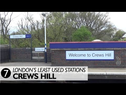 London's Least Used Stations 7 - Crews Hill
