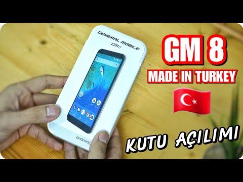 General Mobile GM 8 Kutu Açılımı