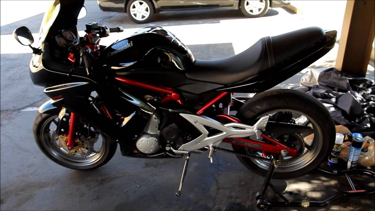 2006 Kawasaki Ninja 650R For Sale in Tucson, AZ Feb 2014 - YouTube