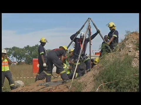 Miners Trapped In South Africa