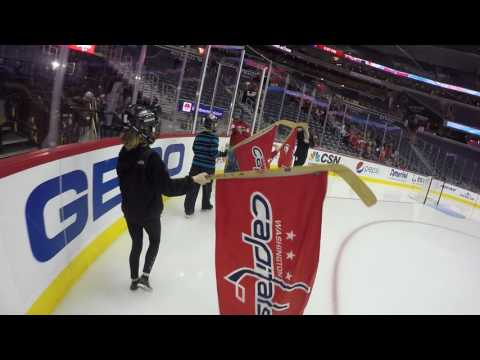 Washington Capitals - Flag Kids from Victory Hockey