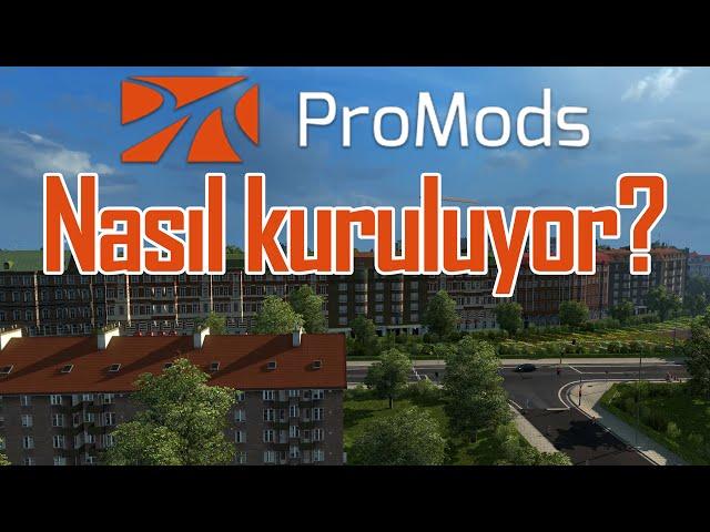Euro Truck Simulator 2'nin 1 26 Uyumlu ProMods 2 12 Harita