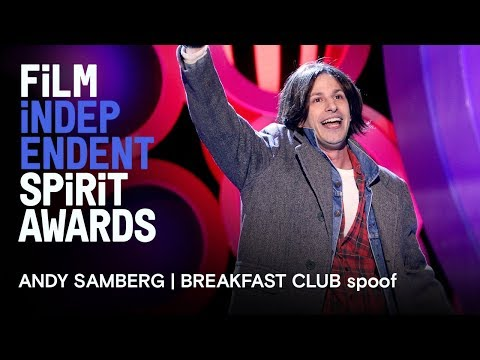 Andy Samberg | Breakfast Club in memoriam tribute | 2018 Film Independent Spirit Awards