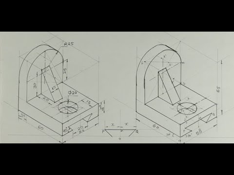 Download Copy isometric 13 - Technical drawing - Engineering drawing