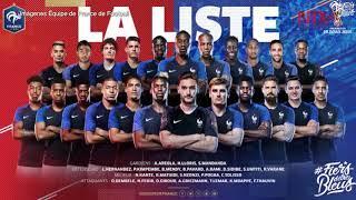Francia anuncia lista de convocados al Mundial, Karim Benzema ausente