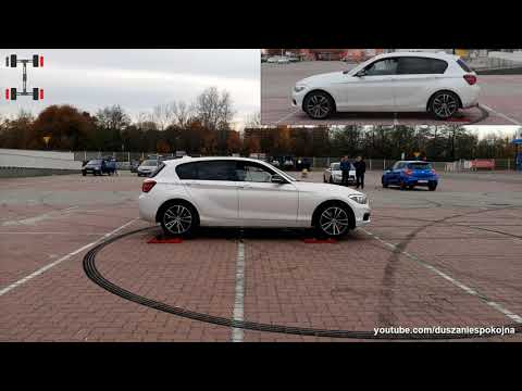 Bmw 1 Series 120d  XDrive - 4x4 Test On Rollers