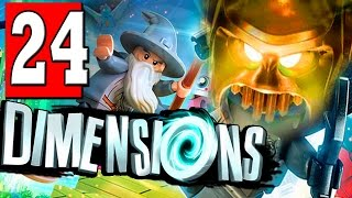 LEGO Dimensions Walkthrough Part 24 LEVEL VORTON DESCENT / BOSS LORD VORTECH