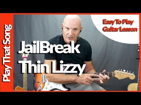 How To Play Jailbreak By Thin Lizzy Guitar Lesson