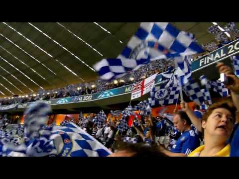 """""""blue is the colour"""" in munich champions league final bayern vs. chelsea"""