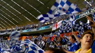 """blue is the colour"" in munich champions league final bayern vs. chelsea"
