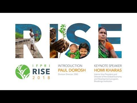 2018 RISE Keynote Address : Homi Kharas, Brookings Institution