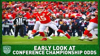 NFL Conference Championship Picks, Early Look at Lines, Betting Advice I Pick Six Podcast