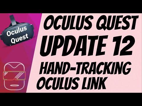 Oculus Quest [deutsch] Funktionen der Version 12 | Oculus Quest Hand Tracking Oculus Link deutsch