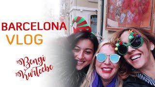 Yaşamın Öğlen Başlayıp Gece Yarısında Bittiği Şehir Barselona | Barselona Vlogu #BengiGeziyor