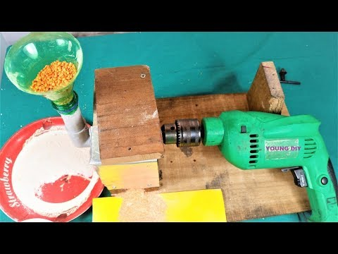 How to Make a Mini Flour mill at Home | DIY