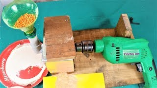 How to Make a Mini Flour mill at Home   DIY