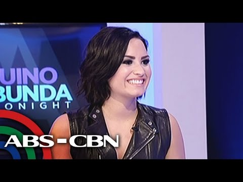 Exclusive interview with Demi Lovato!