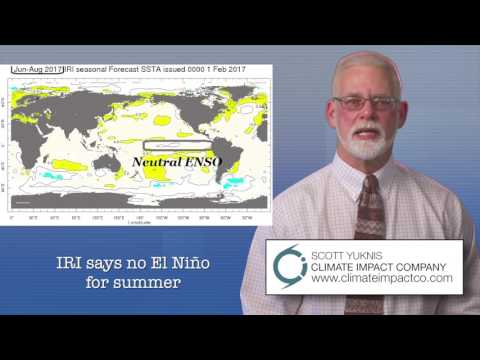 El Nino (ENSO FORECAST)