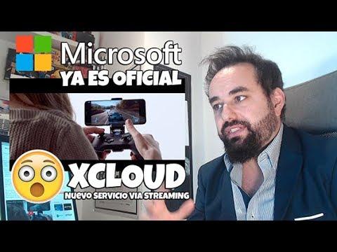 Microsoft presenta OFICIALMENTE Project XCLOUD su JUEGO EN LA NUBE y STREAMING