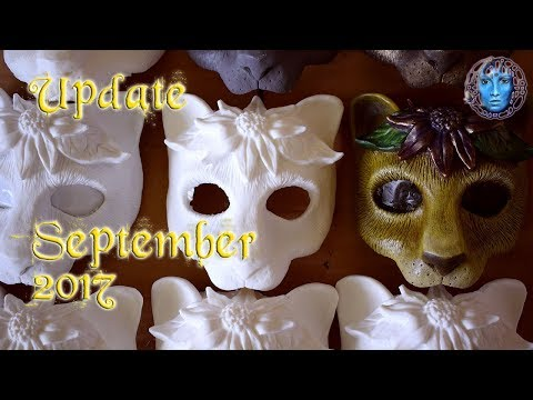 Update September 2017 | Resin Masks | Silicone & Latex Molds | Concrete | Projects