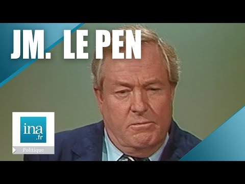 Jean-Marie Le Pen dans L'Heure de Vrit | 13/02/1984 | Archive INA