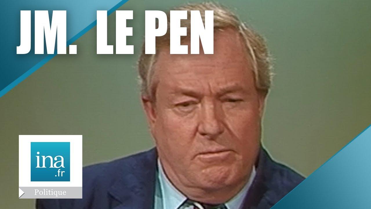 Jean-Marie Le Pen dans L'Heure de Vérité   13/02/1984   Archive INA