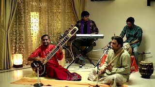 Classical Instrumental (Fusion) - Peacock Dance - Ateetam - Tabla | Flute | Sitar | Keyboard