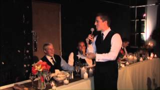 Best Man Speech To Younger Brother!