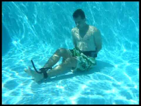 Magic Pants:  Underwater Handcuff Escape