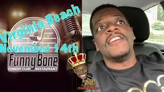 Comedian Shuler King - November 14th Virginia Beach Funny Bone