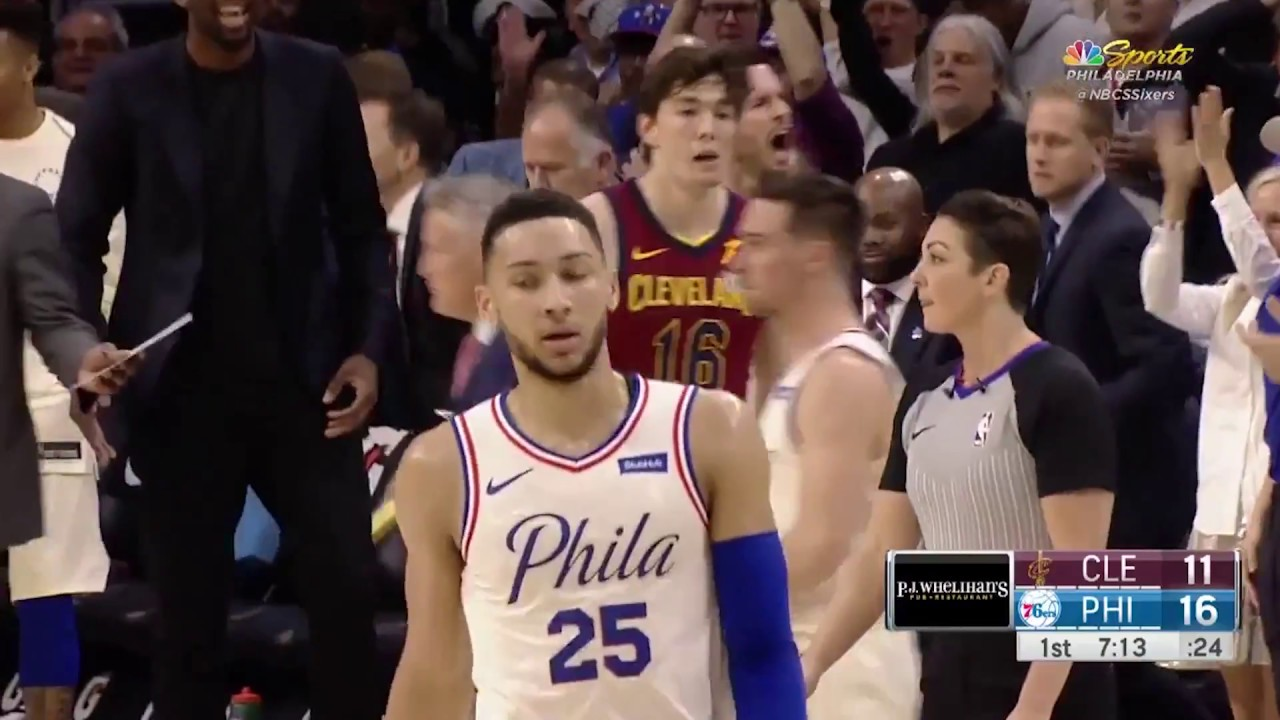 Ben Simmons Messes Around with 27/15/13 in 76ers' Win over Cavs