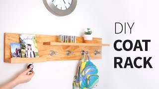 Diy Coat Rack Organizer Shelf... Thing | Woodworking How To