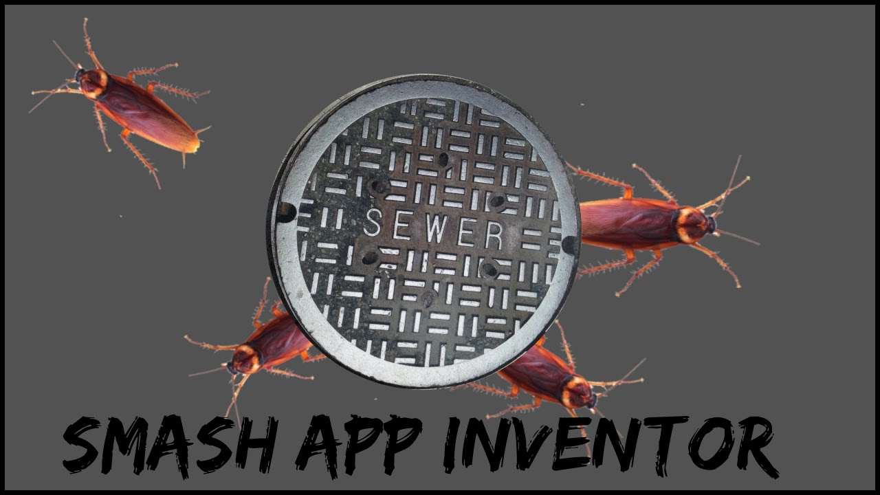 Smashing cockroaches app game  Smash insects MIT App inventor New tutorial