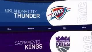 Oklahoma City Thunder vs Sacramento Kings Game Recap   12/19/18   NBA