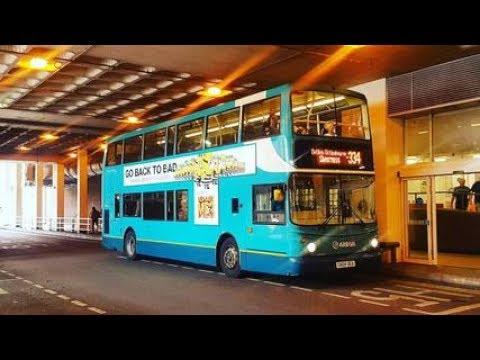 THRASH!!! Arriva Kent & Surrey Volvo B7TL TransBus ALX400 6411 (GN04 UEA)