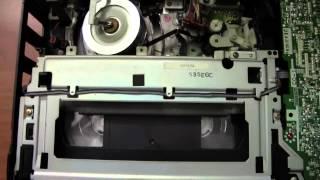 Blaupunkt RTV-535 VHS VCR At Work