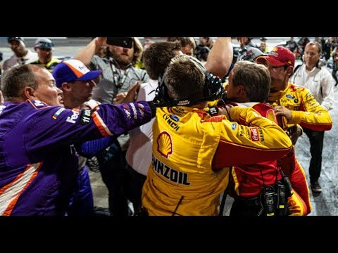 Extended Cut: Logano Vs. Hamlin From All Angles | NASCAR At Martinsville Speedway