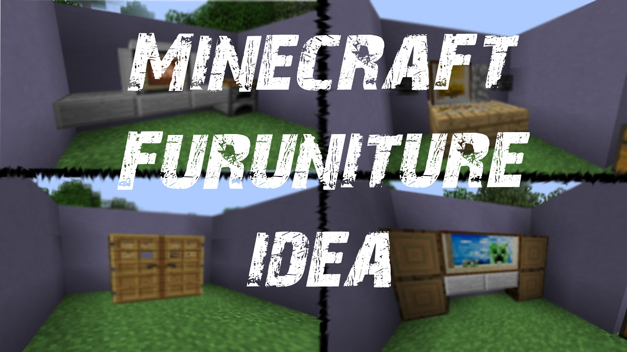 cool furniture ideas for minecraft