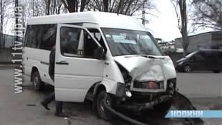 Десятеро людей постраждали у ДТП за участі маршрутки у Дніпропетровську(, 2014-01-14T07:20:41.000Z)