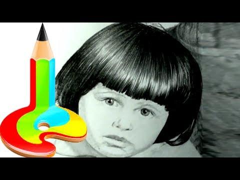 Как нарисовать БЛИКИ на волосах КАРАНДАШОМ! Учимся рисовать Блики в ВОЛОСАХ ! Как Научиться РИСОВАТЬ