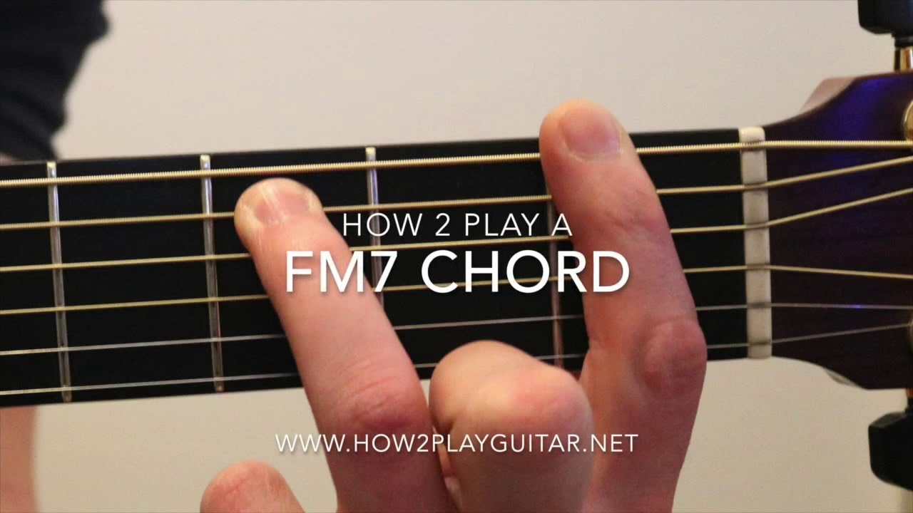 How to play a fm7 chord on guitar youtube how to play a fm7 chord on guitar hexwebz Choice Image