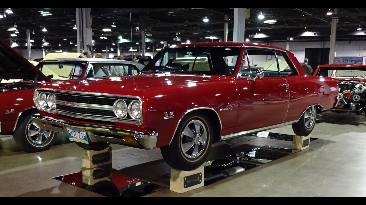 1965 Chevrolet Chevy Chevelle Malibu SS 396 Z16 in Regal Red Paint - My Car  Story with Lou Costabile