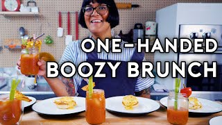 One-Handed Boozy Brunch | Stump Sohla