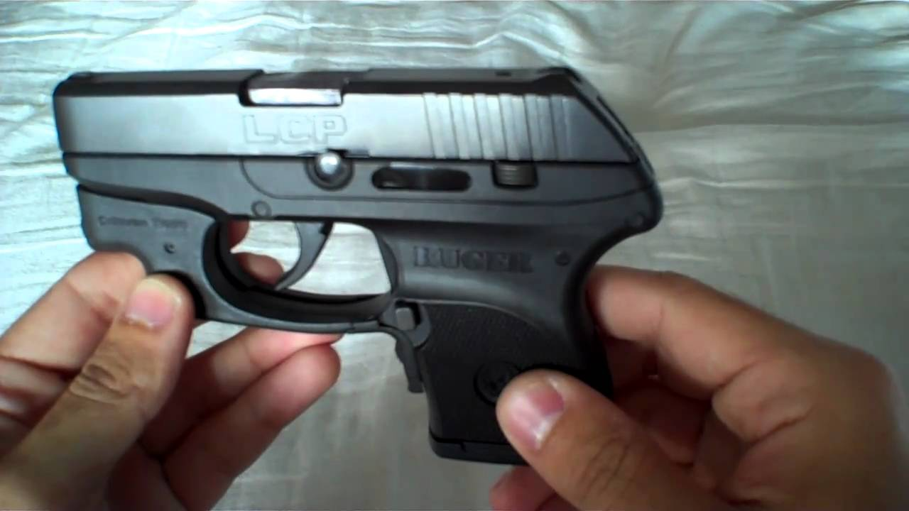Ruger LCP with Crimson Trace and Holsters