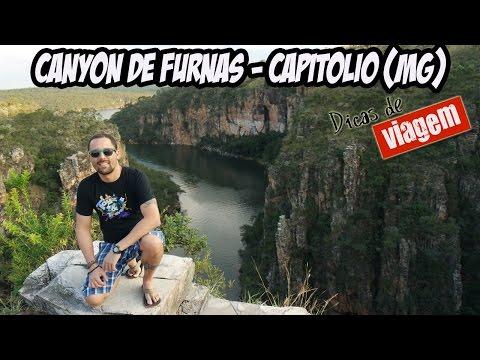 Canyon de Furnas - Capitólio (MG) [Dicas de Vigem BR]