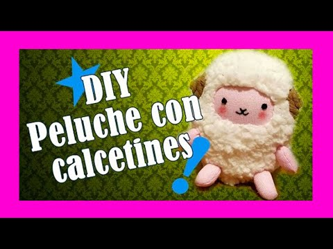 Diy peluche con calcetines youtube - Manualidades con calcetines ...