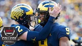 Michigan crushes Penn State 42-7 | College Football Highlights