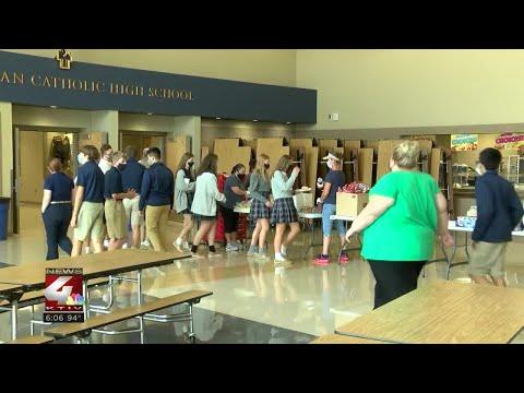 Bishop Heelan Catholic High School welcomes incoming freshmen
