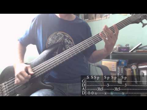 Rage Against The Machine - Take The Power Back [Bass Cover + Tab]