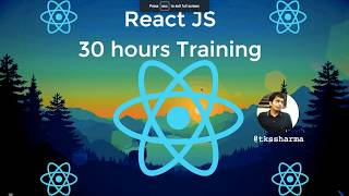React JS in 30 Hours